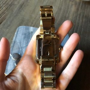 Michael Kors Accessories - Michael Kors Gold Emery watch